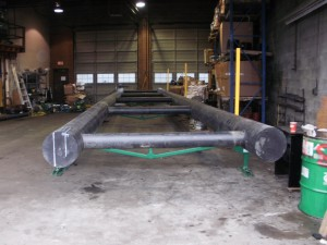 Custom Fabrication of a HDPE dock from Sandale